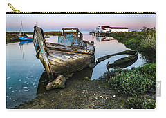 Abandoned Fishing Boat II Carry-all Pouch