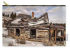 Abandoned Home Or Business Carry-all Pouch by Sue Smith