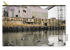 abandoned - Industrial - Swan song Carry-all Pouch