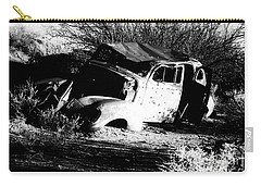 Carry-all Pouch featuring the photograph Abandoned by Jessica Shelton