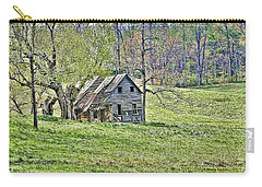 Carry-all Pouch featuring the photograph Abandoned by Kenny Francis