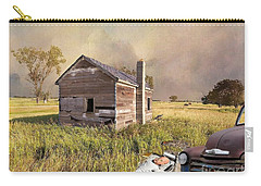 Carry-all Pouch featuring the photograph Abandoned by Liane Wright