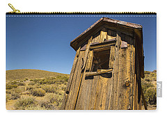 Abandoned Outhouse Carry-all Pouch