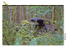 Carry-all Pouch featuring the photograph Abandoned by Peggy Collins
