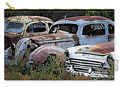 Abandoned Row Carry-all Pouch by Richard Farrington
