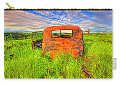 Abandoned Rusting Truck Carry-all Pouch