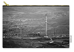 Abandoned Smokestacks Carry-all Pouch by Melinda Ledsome