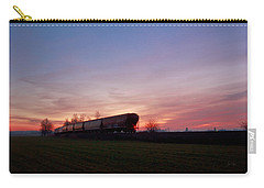 Carry-all Pouch featuring the photograph Abandoned Train  by Eti Reid