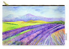 Abbey Fields At Senanque Carry-all Pouch