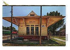 Abilene Station Carry-all Pouch by Mary Jo Allen