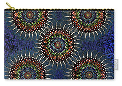 Aboriginal Inspirations 16 Carry-all Pouch by Mariusz Czajkowski