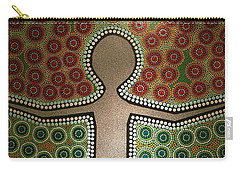 Carry-all Pouch featuring the photograph Aboriginal Inspirations 21 by Mariusz Czajkowski