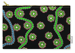 Carry-all Pouch featuring the photograph Aboriginal Inspirations 23 by Mariusz Czajkowski