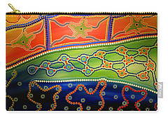 Original Sold Aboriginal Inspirations 7 Carry-all Pouch