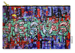 Carry-all Pouch featuring the painting Above All Names by Anthony Falbo