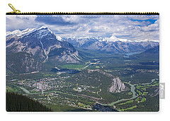 Above Banff Carry-all Pouch by Stuart Litoff