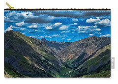 Carry-all Pouch featuring the photograph Above It All by Don Schwartz
