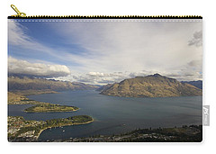 Above Queenstown #2 Carry-all Pouch by Stuart Litoff