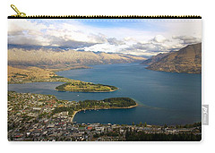 Above Queenstown Carry-all Pouch by Stuart Litoff