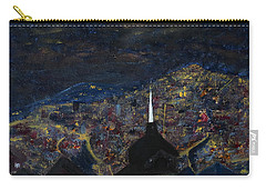 Above The City At Night Carry-all Pouch