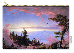 Above The Clouds At Sunrise By Frederick Edwin Church Carry-all Pouch