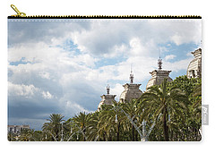 Above The Trees Of Parc De La Ciutadella Carry-all Pouch by Lorraine Devon Wilke