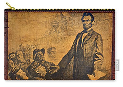Abraham Lincoln The Gettysburg Address Carry-all Pouch