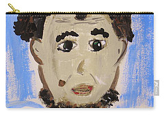 Carry-all Pouch featuring the painting Abraham Lincoln Future President by Mary Carol Williams