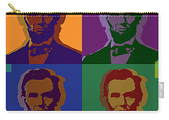 Abraham Lincoln Carry-all Pouch by Jean luc Comperat