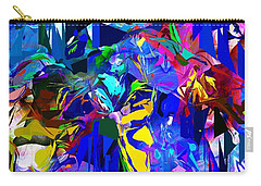 Abstract 010215 Carry-all Pouch by David Lane