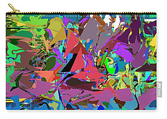 Carry-all Pouch featuring the digital art Abstract 011515 by David Lane