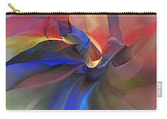 Carry-all Pouch featuring the digital art Abstract 121214 by David Lane