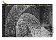 Abstract Arches Colosseum Mono Carry-all Pouch