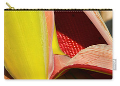 Abstract Banana Bloom Carry-all Pouch