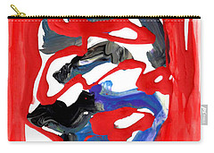 Abstract Blood Cover Up Carry-all Pouch