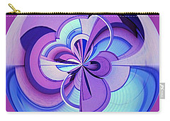 Abstract Circle Squared Carry-all Pouch