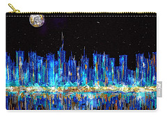 Abstract City Skyline Carry-all Pouch