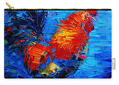 Abstract Colorful Gallic Rooster Carry-all Pouch