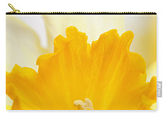 Abstract Daffodil Carry-all Pouch