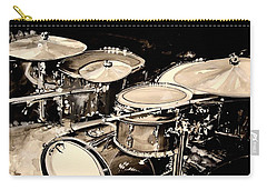 Abstract Drum Set Carry-all Pouch by J Vincent Scarpace
