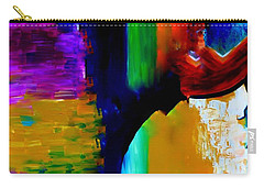 Abstract Du Colour Carry-all Pouch by Lisa Kaiser