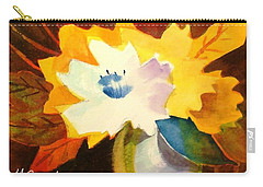 Abstract Flowers 2 Carry-all Pouch