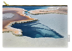 Abstract From The Land Of Geysers. Yellowstone Carry-all Pouch