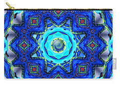 Abstract Glass Mandala Carry-all Pouch