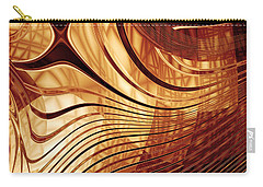 Abstract Gold 2 Carry-all Pouch