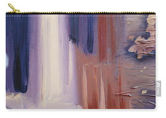 Carry-all Pouch featuring the painting Abstract I by Donna Tuten