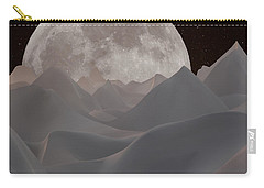 Abstract Landscape #3 Carry-all Pouch by Wally Hampton