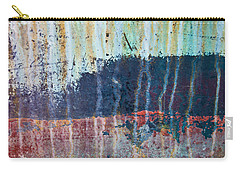 Carry-all Pouch featuring the photograph Abstract Landscape by Jani Freimann