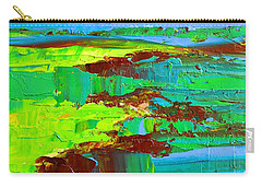 Abstract Landscape No 10 Carry-all Pouch