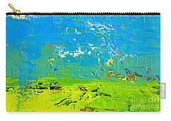 Abstract Landscape No 8 Carry-all Pouch